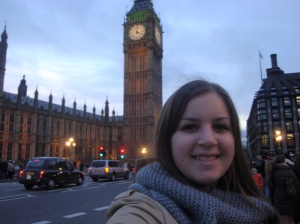 Clock Tower of London (NOT called Big Ben - that's the name of the bell inside) - January 2013