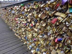 Love Bridge, Paris, France. March 2013