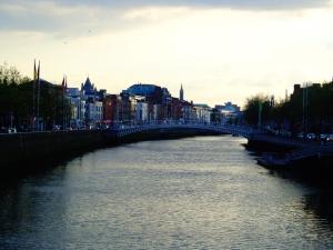 The River Liffey, Dublin - May 2013