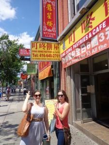 Chinatown in Toronto, Ontario - August 2013
