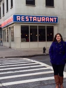 Monk's restaurant in Seinfeld! New York, December 2013